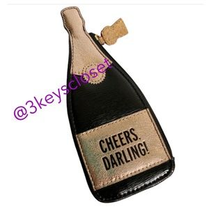 Kate Spade Cheers Darling Champagne Purse